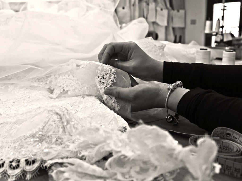 abito da sposa su misura